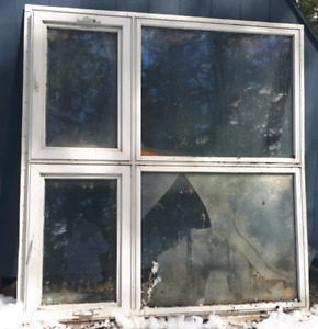 Large double pane window-$65
