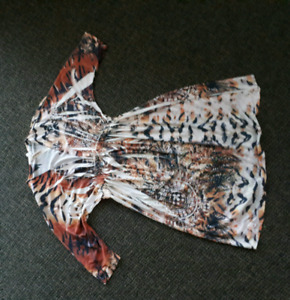 Silk Tiger Themed dress