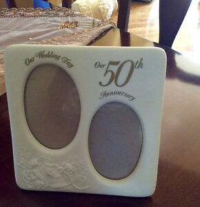 50th Wedding Anniversary Picture  Frame West Island Greater Montréal image 2