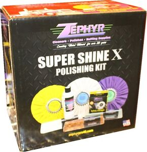 *** SUPER SHINE X POLISHING KIT ****
