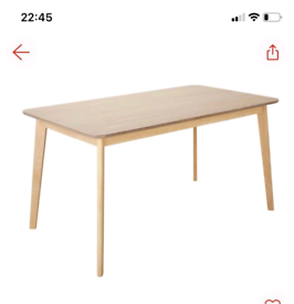 Skandi 120cms Table Desk only £60. Real Bargains Clearance Outlet Lei