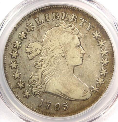 1795 Draped Bust Silver Dollar ($1 Coin, Centered, Small Eagle) - PCGS VF Detail