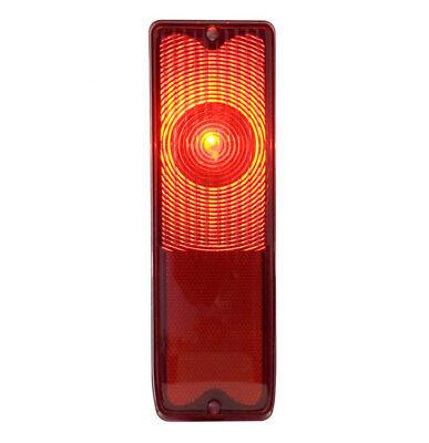 RED TAIL LAMP LENS 1967 - 1972 Fleetside Truck CHEVROLET CHEVY GMC