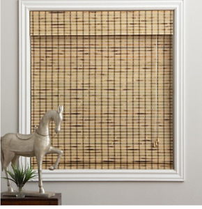 Set of Three Bamboo Roman Blinds-New