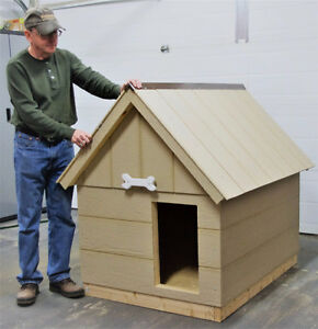 Dog House foam insulated, easy move design