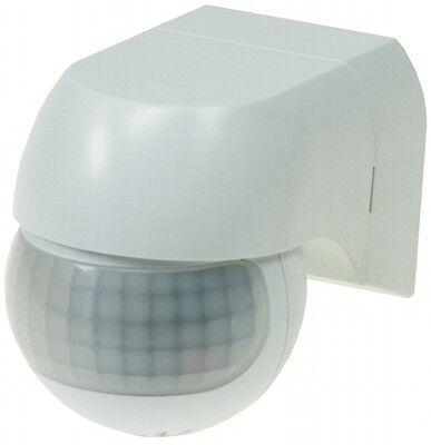 PIR-Bewegungsmelder weiß 180° Innen/Außen LED-geeignet max.12m 1-800 Watt SLIM