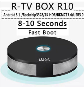 R10 Android 8.1 TV Box-Better Than MXQ Pro+ with the RK3328 CPU