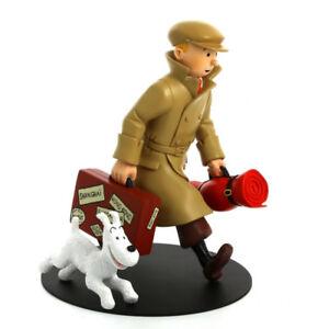 Tintin - Figurine ''Ils arrivent''