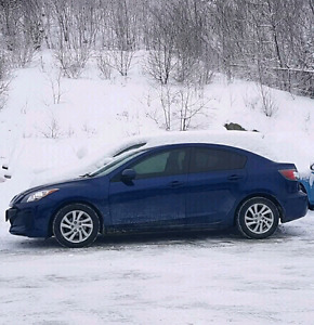 2012 Mazda3 GX + convenience package