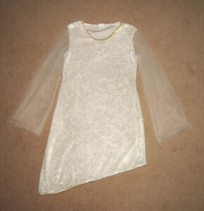 Angel / Fairy Dress - youth approx. sz 12 (small adult)