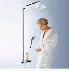 Hans Grohe Raindance Select Shower Pipe