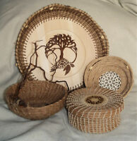 Learn Coiled Basketmaking at The Art School of Peterborough