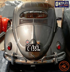 YOM Licence Plates For Your Old Auto - Ministry Guaranteed! Kitchener / Waterloo Kitchener Area image 9
