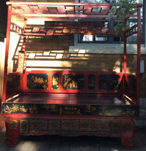 Antique Chinese Wedding  Bed for sale $1800
