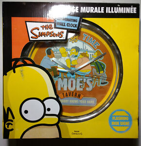 Simpsons Wall Clock - New in Box