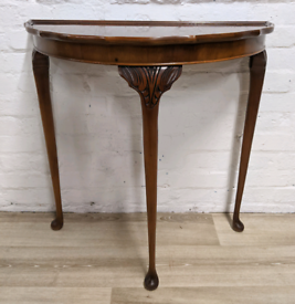 Vintage Half Moon Table (DELIVERY AVAILABLE)