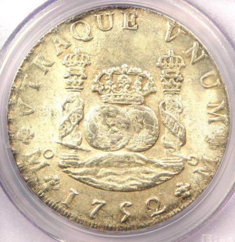 1752-MO MF Mexico Pillar Dollar 8 Reales Coin (8R) - PCGS Uncirculated Detail MS