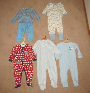 Boys Sleepers, Pj's, Clothes, Winter Sets - 12, 12-18, 18, 18-24 Strathcona County Edmonton Area image 7