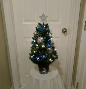Butterfly/Bluebird Christmas Tree