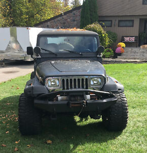Customized Jeep YJ (Trade Considered)