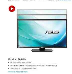 """PB287Q 28"""" UHD monitor 4K"""