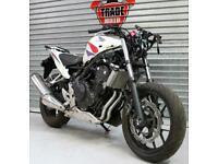 2013 13 HONDA CBR500 RA-D CBR500R ABS CAT D PROJECT TRADE SALE SPARE OR REPAIR