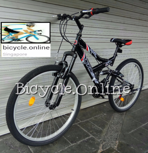 Xtreme Full Suspension MTB ☆Nice Sporty Frame Design