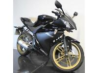 2011 61 YAMAHA YZF-R125 BLACK DAMAGED/PROJECT/SPARES/REPAIR/TRADE SALE CAT C