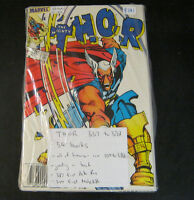 Mighty Thor Simonson run Comics. 337 to 392. 56 books in a row.