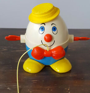 VINTAGE FISHER PRICE HUMPTY DUMPRY