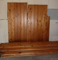 Used Cedar Boards
