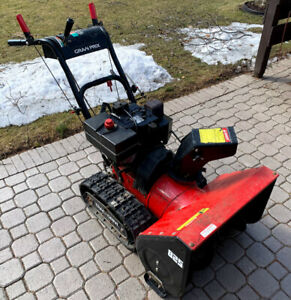 "Snowblower-8hp 25"" wide, Tracks -Electric Start"