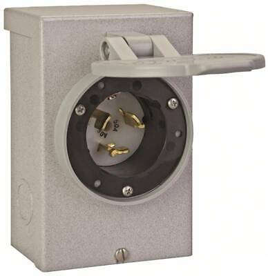 New Reliance Pb50rc 50 Amp Outdoor Generator Power Inlet Box 12500 Watt 4758132