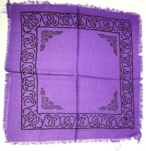 """Celtic Altar Cloth 18"""" x 18"""" Wiccan Witchcraft Supply Store"""