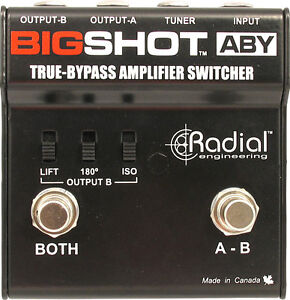 Looking for a ABY switch pedal of some sort