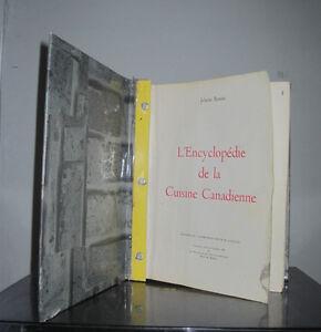 L'encyclopédie  Canadienne de JEHANE BENOIT 1963