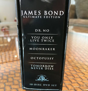 James Bond DVD Ultimate Edition Box Sets Peterborough Peterborough Area image 7