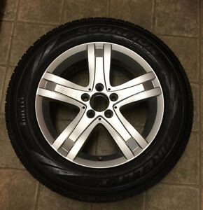 Mercedes Benz GLK winter tires on rims for sale