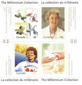 Canada Stamps - The Millennium Collection - Hearts of Gold (Set West Island Greater Montréal image 1