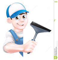 lavage de vitres  (résidentiel et commercial)