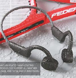 Headphones, bone conduction, NEW