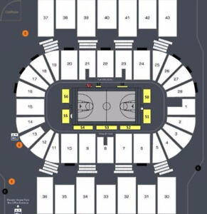AMAZING 1/2 PRICE HALIFAX HURRICANES LOWER BOWL TICKETS !!!