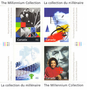 Canada Stamps - The Millennium Collection - Fostering Canadian T