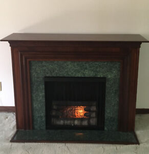 """Fireplace (fake no heat) from Sear""""s"""