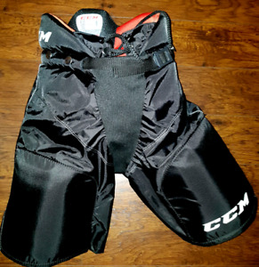 boys hockey pants, skates