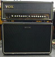 """VOX AC50CP ALL TUBE HEAD with 2X12"""" VOX SPEAKER CABINET"""