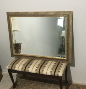 BEVELLED MIRROR WITH FRAME
