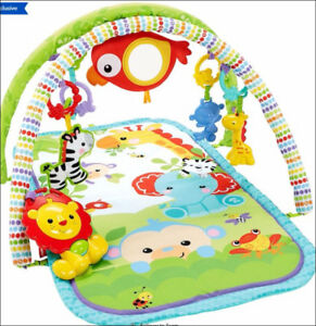 Fisher-Price 3-in-1 Musical Activity Gym (Like New)