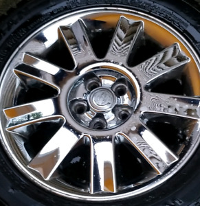 2004 2006 Chrysler rims 5x100 set 4