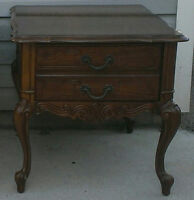 Solid Wood French Provincial Night Stand/End Table $100/OBO